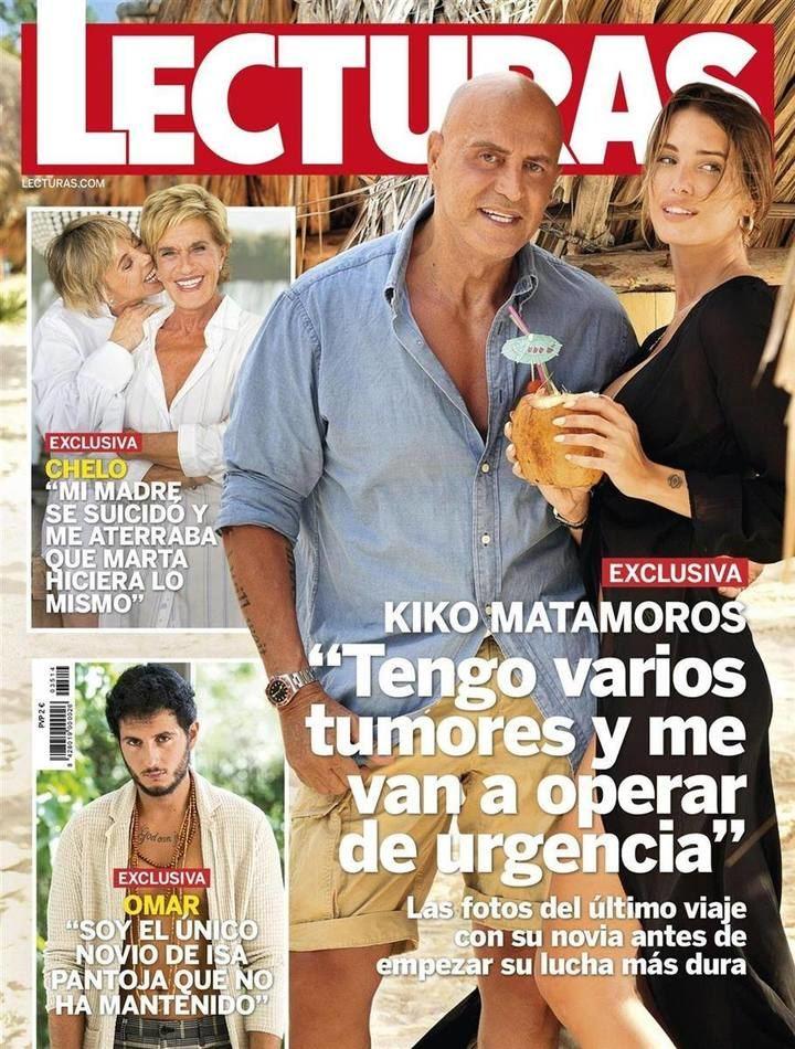 """LECTURAS Kiko Matamoros : """"Me operan de urgencia de varios tumores"""""""