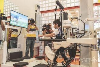 Fundación Nipace presenta el nuevo robot Lokomat