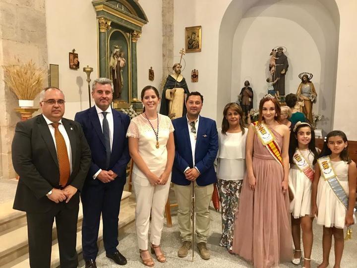 Alfonso Esteban, Marta Abádez y Fco Javier Pérez participan en las fiestas de Loranca de Tajuña