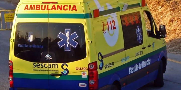 El choque entre una furgoneta y un camión de Obras Públicas deja dos heridos en Cabanillas del Campo