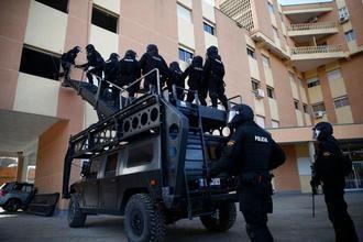 Los GEO de Guadalajara liberan a un hombre que se encontraba secuestrado en un piso de Seseña