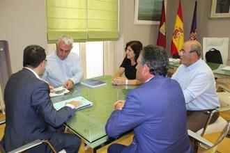 Primera reunión de trabajo entre los presidentes de la Diputación Provincial y CEOE-Cepyme Guadalajara