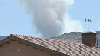 El incendio Forestal en Miraflores de la Sierra está controlado