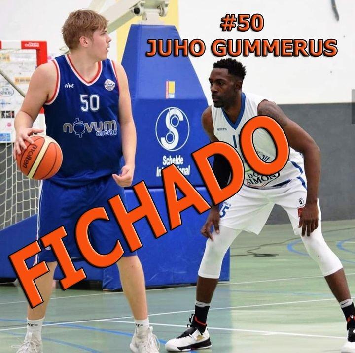 El pívot finlandés Juho Gummerus, primer fichaje del Isover Basket Azuqueca para la temporada 2019-2020
