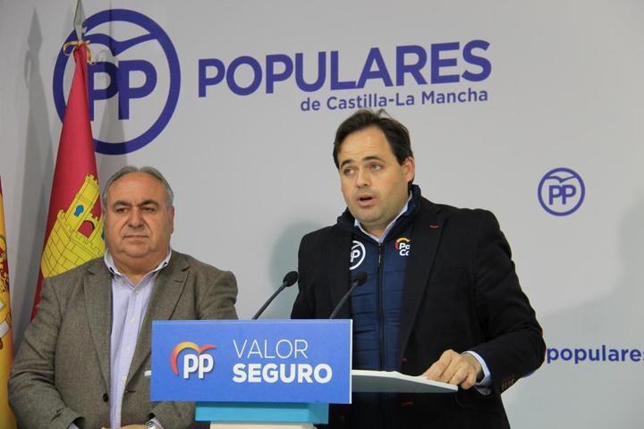 Núñez destaca la importante representación del PP de Castilla-La Mancha en las Comisiones del Congreso de los Diputados