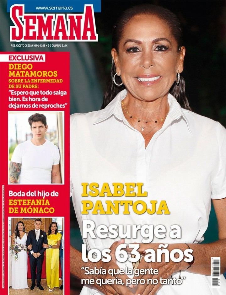 SEMANA María Patiño pasa por boxes: los detalles de su último retoque