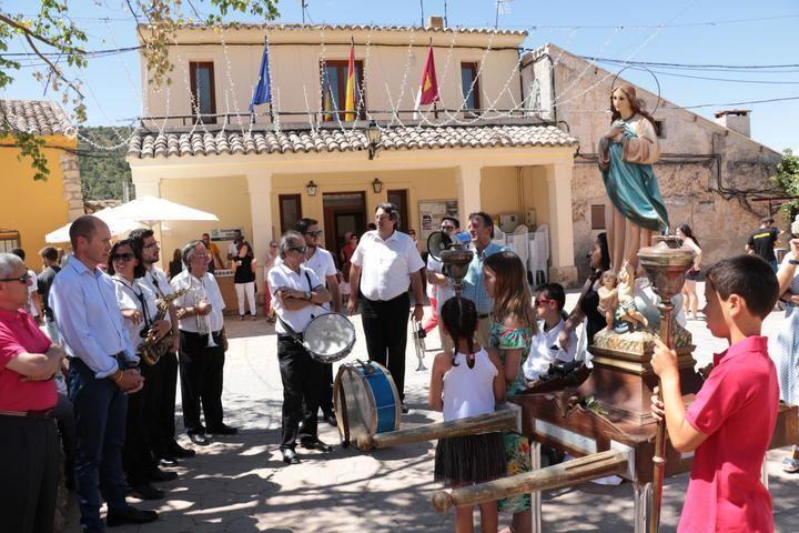 Cereceda celebra el día en honor a su patrona, la Virgen de la Asunción