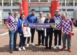 El Atlético Guadalajara amplía sus fronteras al hermanarse con el club inglés Middlesbrough FC