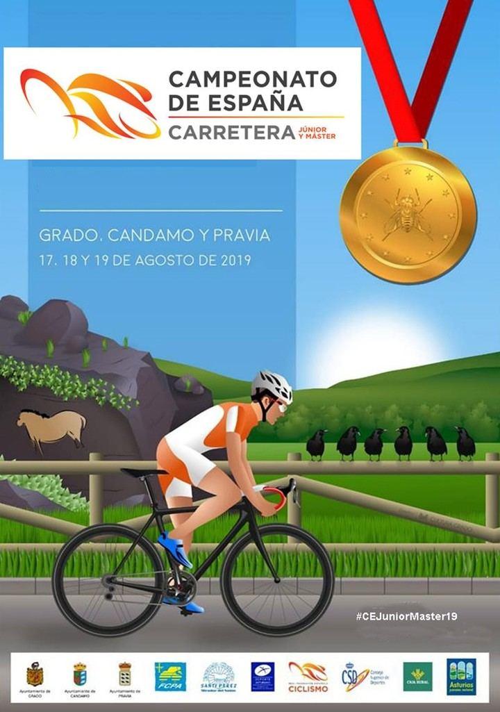 Ocho ciclistas junior integran la Selección de Castilla-La Mancha que disputará el Campeonato de España 2019 en Asturias