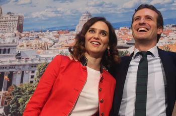 Isabel Díaz Ayuso promete el IRPF más bajo de la historia para Madrid