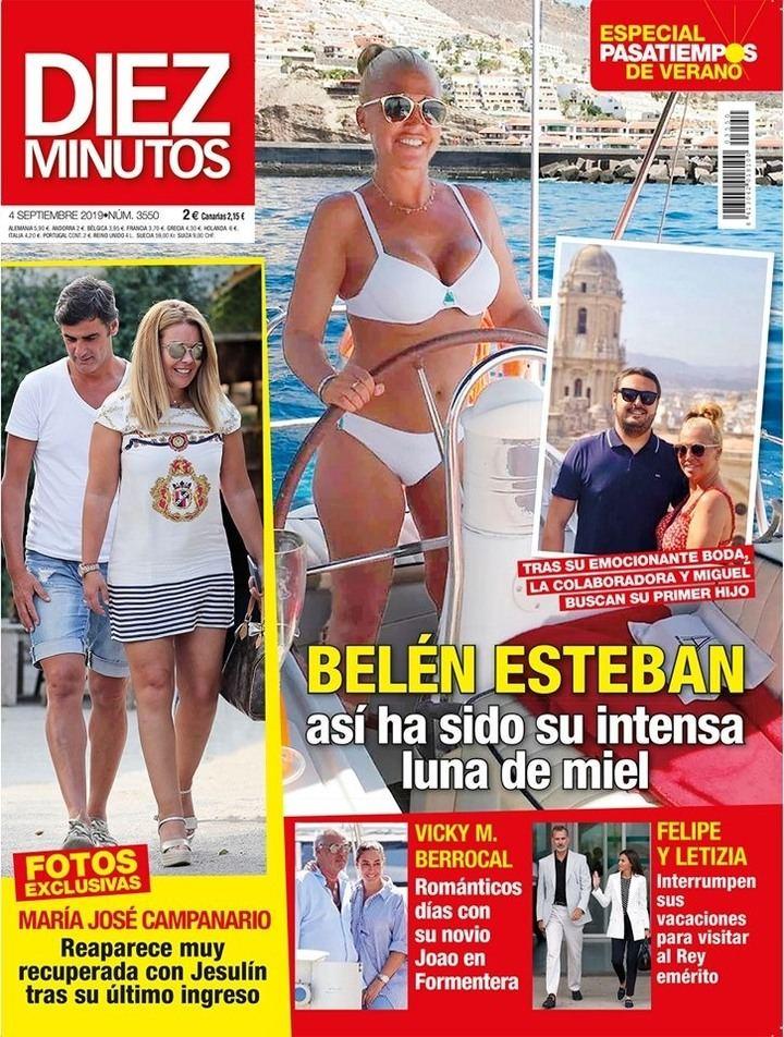 DIEZ MINUTOS Cristina Pedroche y David Muñoz sufren un contratiempo en sus vacaciones