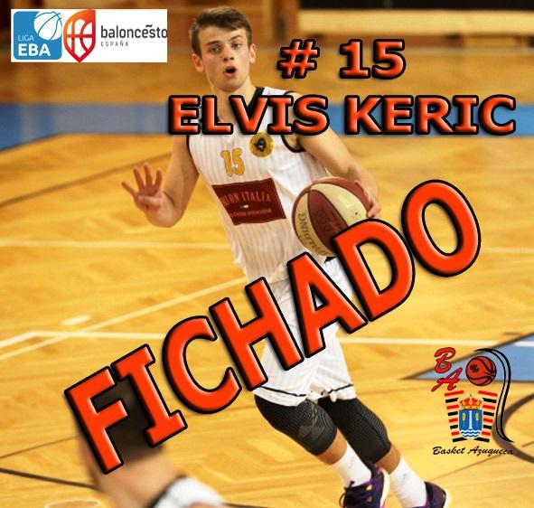 El escolta esloveno Elvis Keric se convierte en el tercer fichaje del Isover Basket Azuqueca