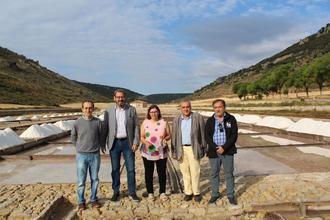 Eusebio Robles visita las Salinas de San Juan y destaca las posibilidades económicas de la iniciativa para comercializar la flor de sal