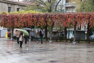 18ºC de mínima y 27ºC de máxima este martes de agosto en Guadalajara que sigue en alerta por fuertes lluvias