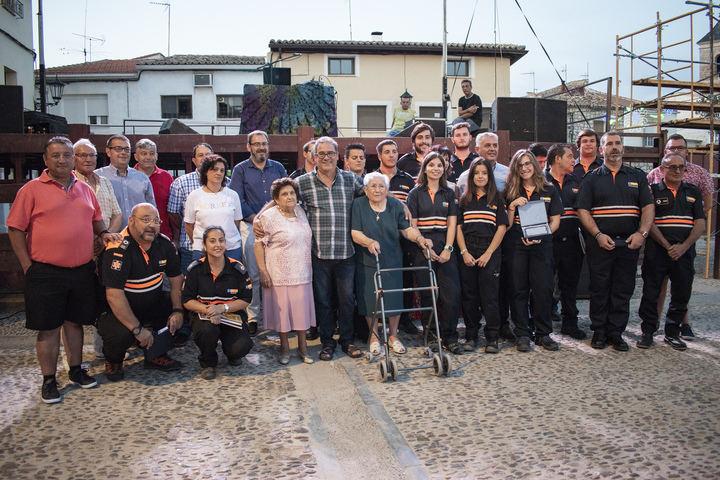 """Eusebio Robles destaca la """"labor encomiable"""" de las agrupaciones de Protección Civil en un homenaje organizado en Fuentelencina"""