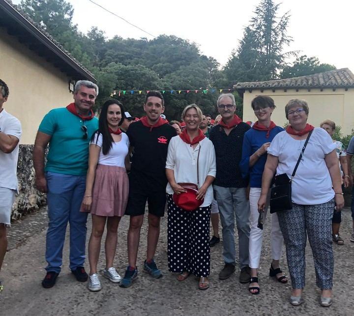 El portavoz del grupo popular participa en la Fiestas de Fontanar y Alocén