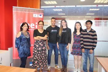 El CEEI de Guadalajara pone en marcha su 'coworking' internacional