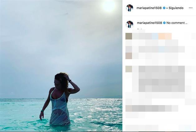LECTURAS María Patiño responde duramente a las críticas sobre su última y polémica foto en el mar