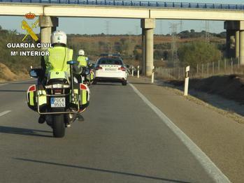 La Guardia Civil detecta 23 alcoholemias positivas en carreteras de la provincia durante las fiestas patronales de Brihuega
