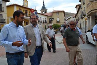 El Delegado de la Junta en Guadalajara visita Jadraque para interesarse por los proyectos y necesidades del municipio