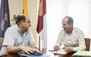 El alcalde, Alberto Rojo, se compromete a aportar 150.000 euros para la reforma de la Casa Nazaret de Guadalajara