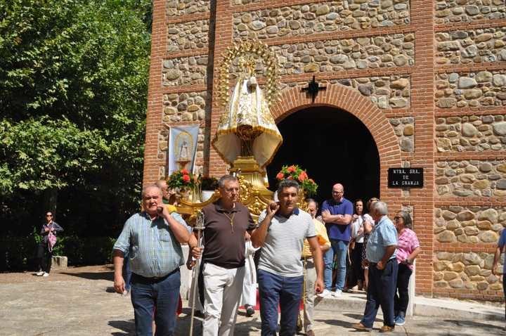 La fiesta de San Agustín vuelve a hermanar a Yunquera de Henares y Torre del Burgo