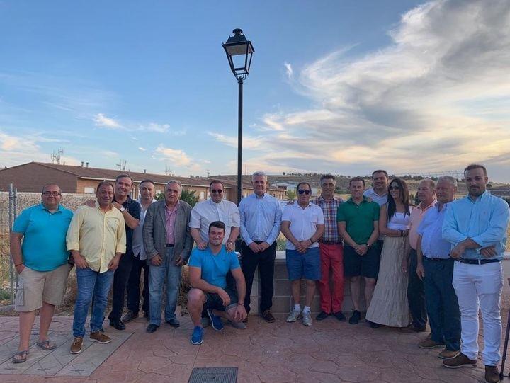 La Diputación ha invertido 23.000 euros en el acondicionamiento del paseo de entrada a Mazuecos