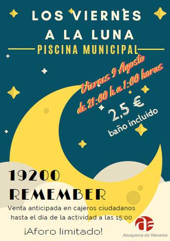 El programa 'Viernes a la luna' se despide con la música de '19200 Remember' en Azuqueca