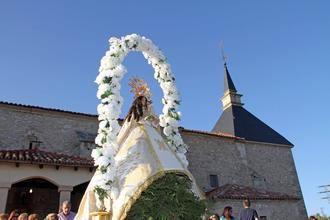 Todo listo para las fiestas de la Virgen de los Enebrales de Tamajón