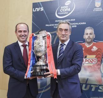 La Supercopa de España 2019 ya luce en Guadalajara