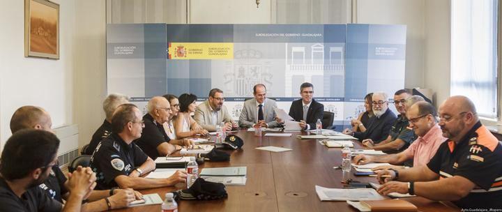La Junta Local de Seguridad aprueba el dispositivo especial de Ferias de Guadalajara