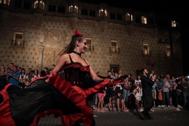 Cabalgata de Carrozas estas Ferias en Guadalajara. Foto : Eduardo Bonilla