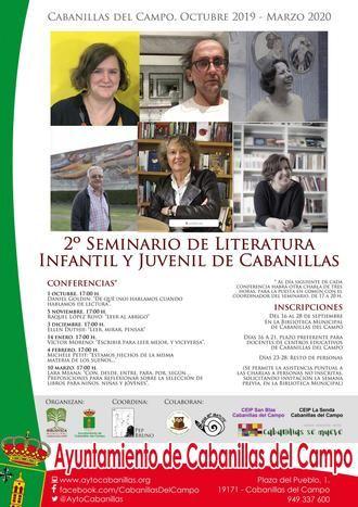 El Seminario de Literatura Infantil y Juvenil de Cabanillas tendrá segunda edición, de octubre a marzo
