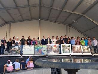 El XXII Certamen de Pintura Rápida al Aire Libre Ciudad de Guadalajara ya tiene ganadores