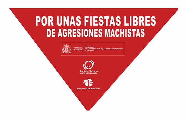 El Ayuntamiento de Azuqueca impulsa la campaña 'Por unas fiestas libres de agresiones machistas'