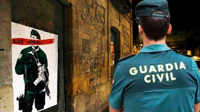 21 Agentes de la Guardia Civil agredidos en una semana que cerrará con los actos de odio y de enaltecimiento del terrorismo convocados, una vez más, en Alsasua