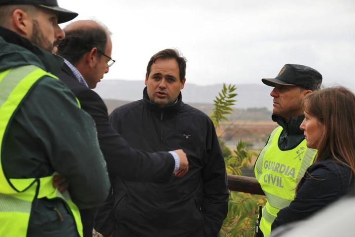 Paco Núñez pone en valor la labor de alcaldes como el de Almansa y Caudete que ante una emergencia meteorológica se han puesto al frente de la coordinación de los trabajos
