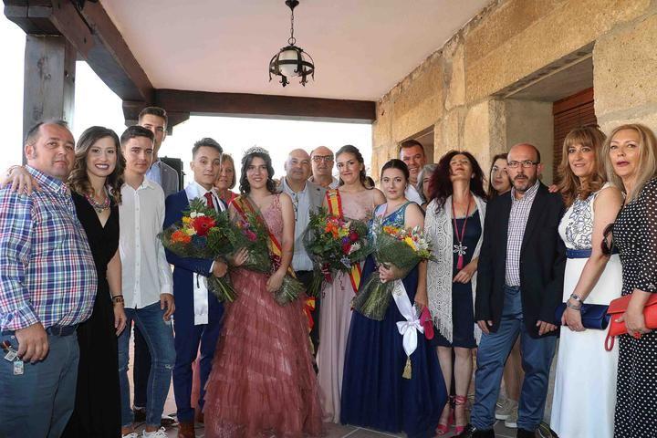 Pablo Pascual y Rubén Rodrigo pregonaron ayer las fiestas de Almonacid