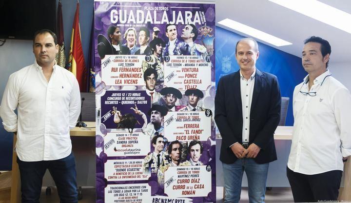 La Feria Taurina de 2019 de Guadalajara incluirá en su cartel a todos los triunfadores de la Feria de San Isidro
