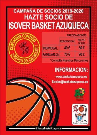 Isover Basket Azuqueca lanza su campaña de socios