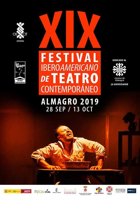 Almagro acogerá el 19º Festival Iberoamericano de Teatro Contemporáneo del 28 de septiembre al 13 de octubre