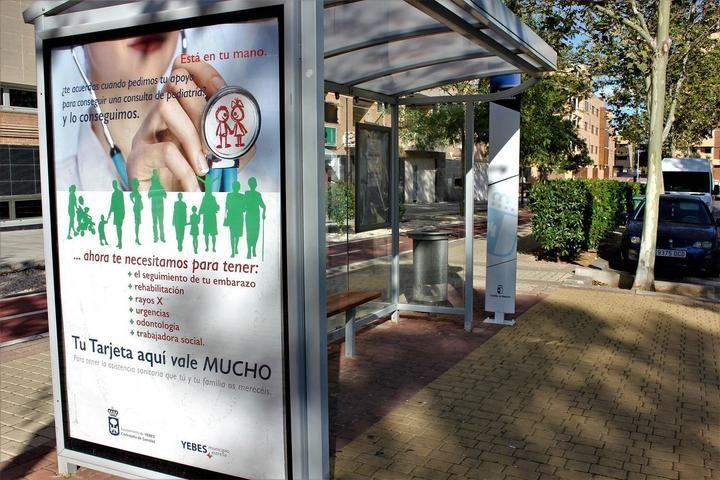 Yebes emprende una campaña para incrementar el número de tarjetas sanitarias en el municipio