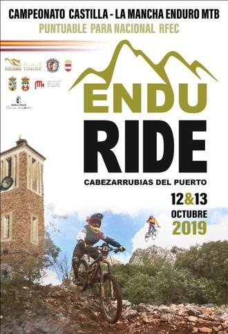 La segunda edición del Endu Ride Cabezarrubias del Puerto volverá a acoger el Campeonato de Castilla-La Mancha de Enduro