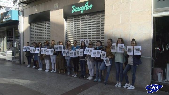 Gran seguimiento de la huelga en las perfumerías Douglas