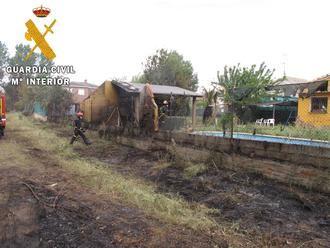 La Guardia Civil investiga a una persona como autor de un delito de incendio forestal