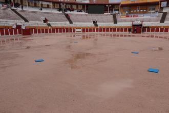 El mal tiempo empañó el final de las Ferias y Fiestas de Guadalajara