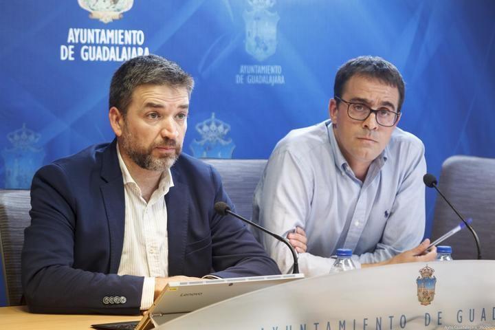 El segundo acceso provisional al Hospital de Guadalajara estará abierto en las próximas semanas y sí contará con iluminación en su rotonda de acceso