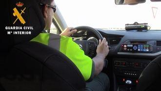La Guardia Civil investiga a una persona por ir a 217 kms/h por una autovía de Toledo