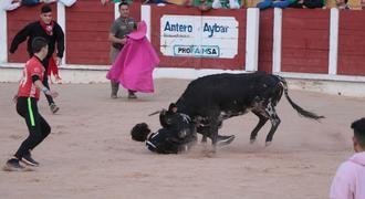 El Segundo Encierro de las Ferias y Fiestas de Guadalajara transcurre sin incidencias de gravedad, solo dos policontusionados