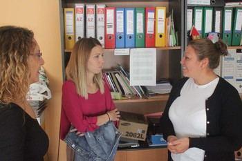 Los alumnos del Taller de Empleo comienzan prácticas en distintos edificios municipales de Cabanillas